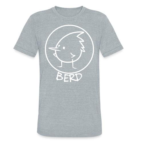 nice tri-blend BERD shirt - Unisex Tri-Blend T-Shirt
