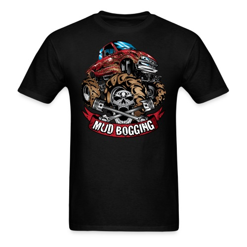 Mud Bogging - Men's T-Shirt