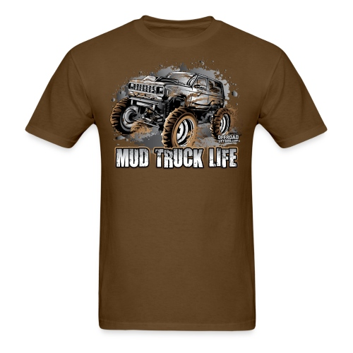 Mud Truck Life - Men's T-Shirt