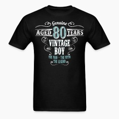 Vintage Boy Aged 80 Years... T-Shirts
