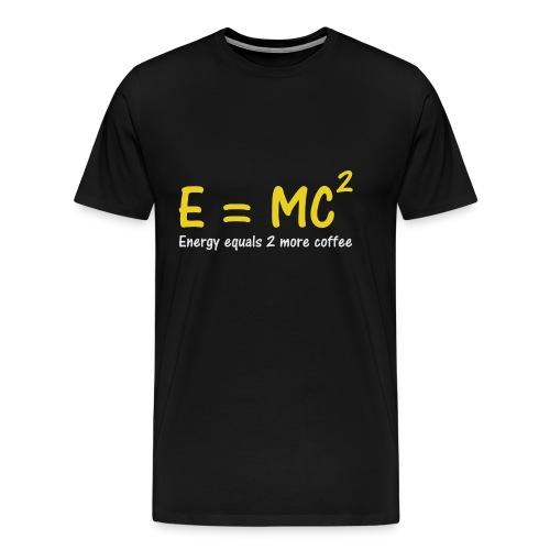 E = MC2 Science T-Shirt - Men's Premium T-Shirt