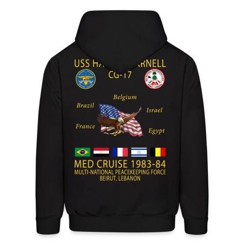 USS HARRY E YARNELL 1983-84 CRUISE HOODIE - Men's Hoodie