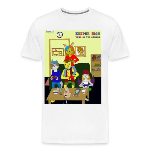 Keeper High Comic tee - Men's Premium T-Shirt