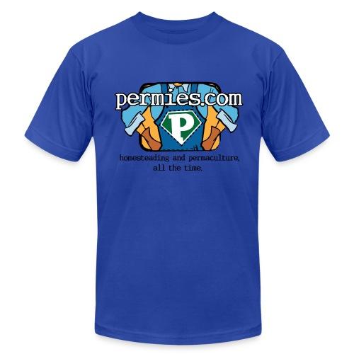Permies New Logo Tee shirt - Men's Fine Jersey T-Shirt