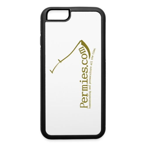 Permies Scythe iPhone 6 Rubber Case - iPhone 6/6s Rubber Case