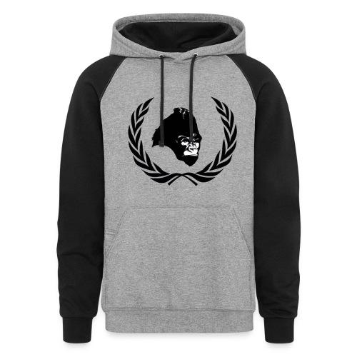 Mind Power Athletics Colorblock hoodie - Colorblock Hoodie