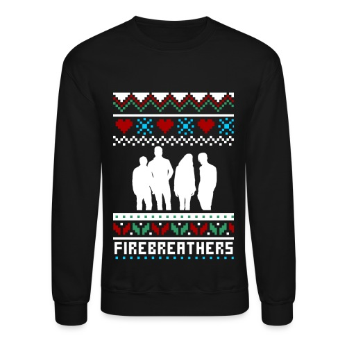 ID Firebreathers Unisex Christmas Jumper - Crewneck Sweatshirt