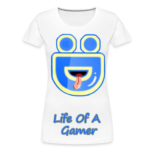 Female Deebz Shirt Life Of A Gamer - Women's Premium T-Shirt