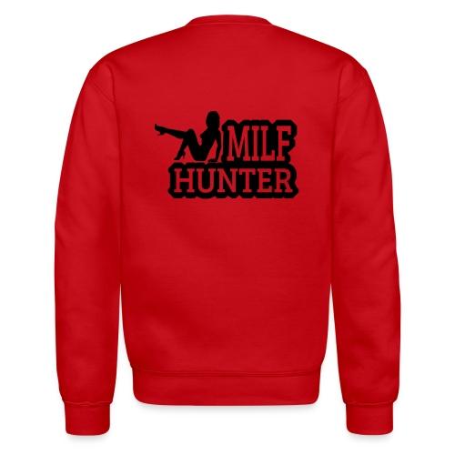 milf hunter sitting - Crewneck Sweatshirt