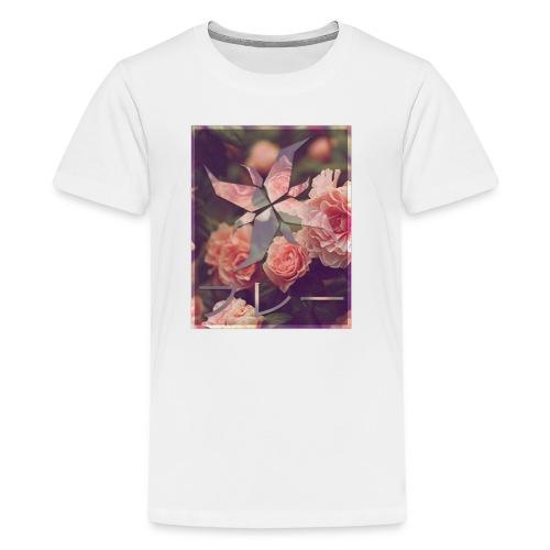 Bray Floral T-Shirt (Kids) - Kids' Premium T-Shirt