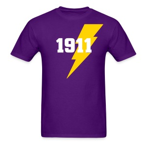 QSP:Lightning Strike -1911 - Men's T-Shirt