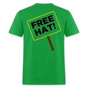 Free Hat - back