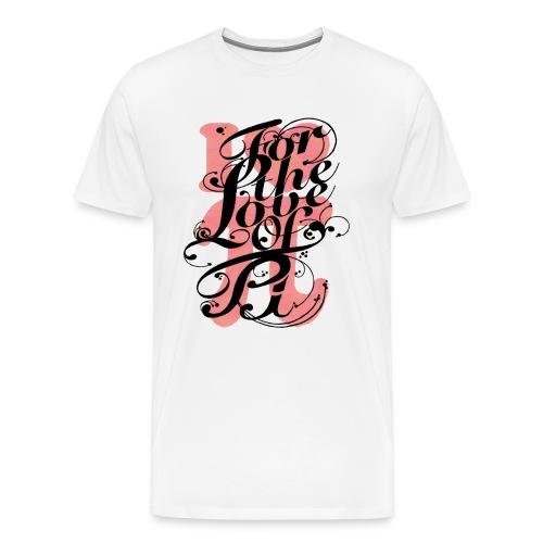 love pi - Men's Premium T-Shirt