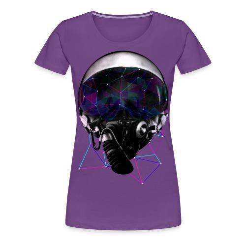 Abrazive Enterprize Galaxy Logo T Womens Shirt - Women's Premium T-Shirt