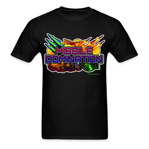 Missile Domination shirt - Men's T-Shirt