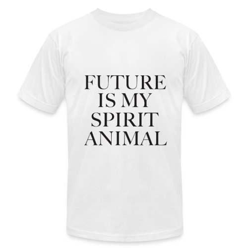 Future Is My Spirit Animal- Male White Tee - Men's  Jersey T-Shirt