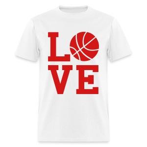 Basketball Love - Men's T-Shirt
