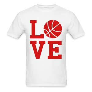 Basketball Love - Men's T-Shirt