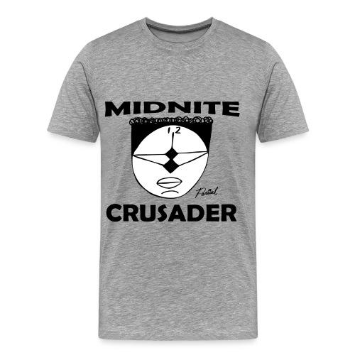 Midnite Crusader Men's T-shirt - Men's Premium T-Shirt
