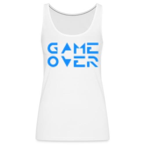 Game Over - Women's Premium Tank Top