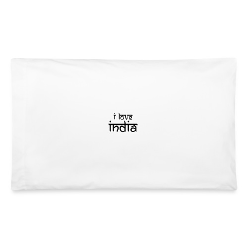 I Love India - Pillowcase 32'' x 20''