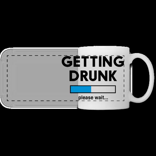 Getting Drunk Coffee Mug - Panoramic Mug