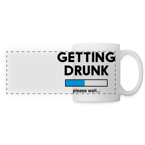 Getting Drunk Coffee Mug - Panoramic Mug