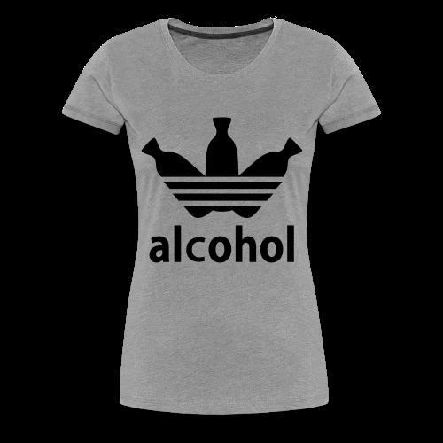Alcohol Tee (Women's) - Women's Premium T-Shirt