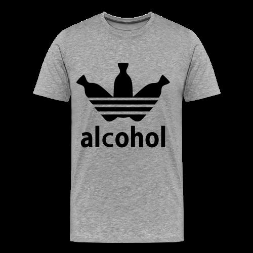 Alcohol Tee (Men's) - Men's Premium T-Shirt