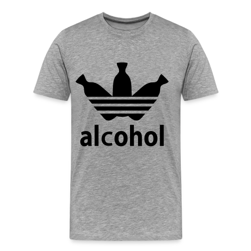 Alcohol Tee (Men's) - Men's Premium T-Shirt