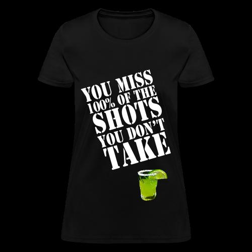 Shots Tee (Women's) - Women's T-Shirt