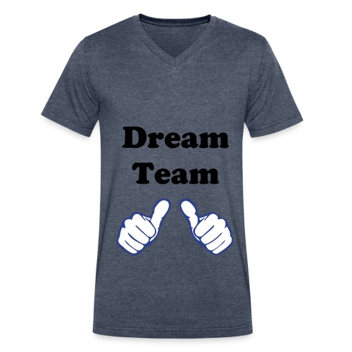 Dream Team - Men's V-Neck T-Shirt by Canvas