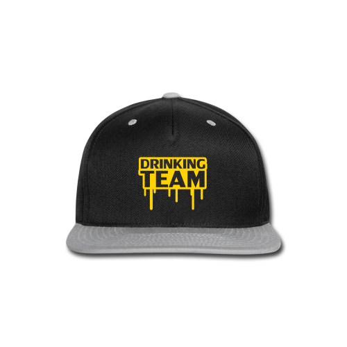 Drinking Team Hats - Snap-back Baseball Cap