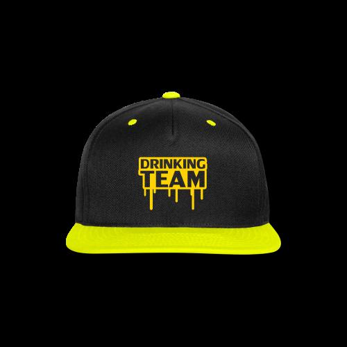 Drinking Team Hats - Snap-back Baseball Cap