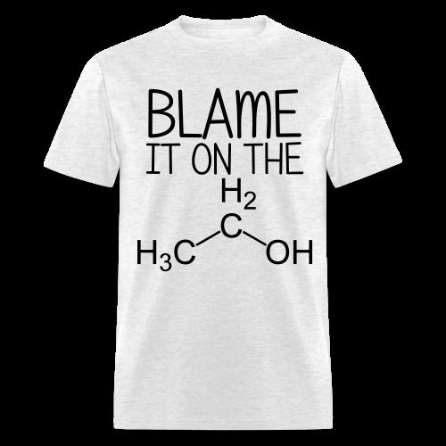 Blame it on the Alcohol Tee (Men's) - Men's T-Shirt