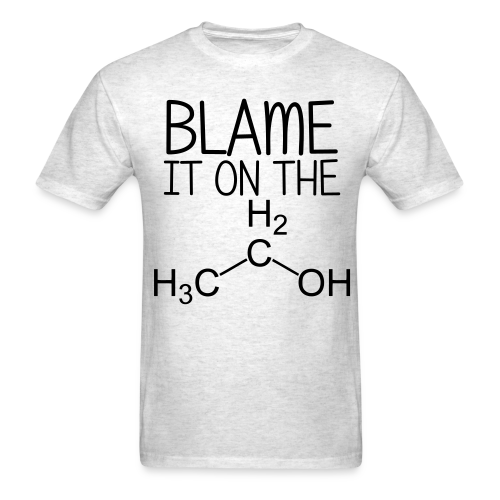Blame it on the Alcohol Tee (Men's) - Men's T-Shirt