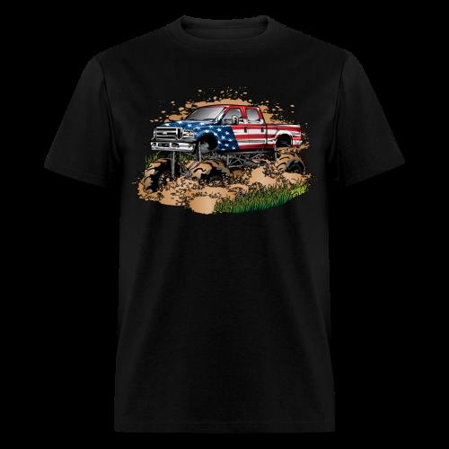 Mud Truck USA - Men's T-Shirt