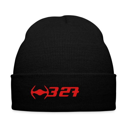 327 - Knit Cap with Cuff Print