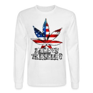 Land of the Free - Men's Long Sleeve T-Shirt