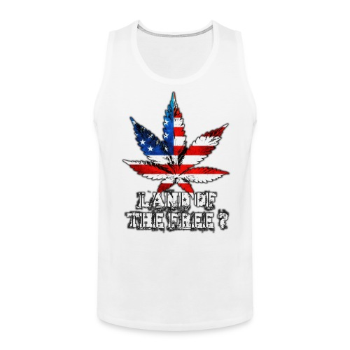 Land of the Free - Men's Premium Tank