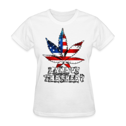 Land of the Free - Women's T-Shirt