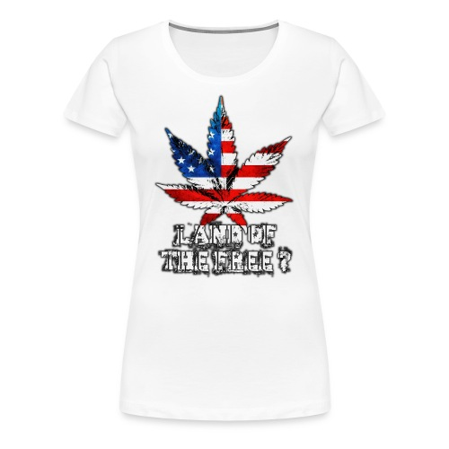 Land of the Free - Women's Premium T-Shirt