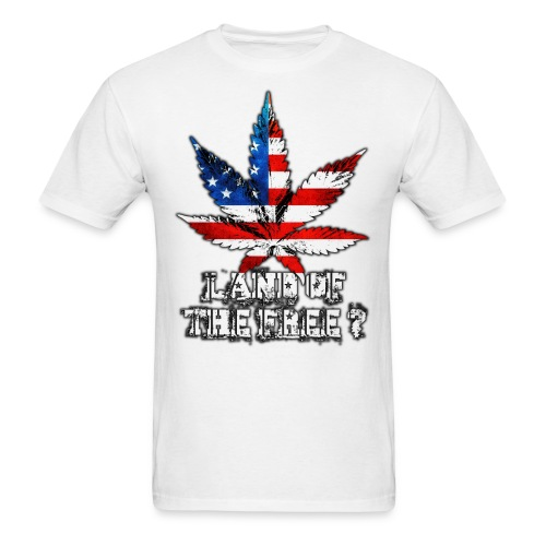 Land of the Free - Men's T-Shirt