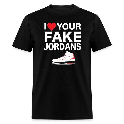 I Heart you Fakes Tee - Men's T-Shirt
