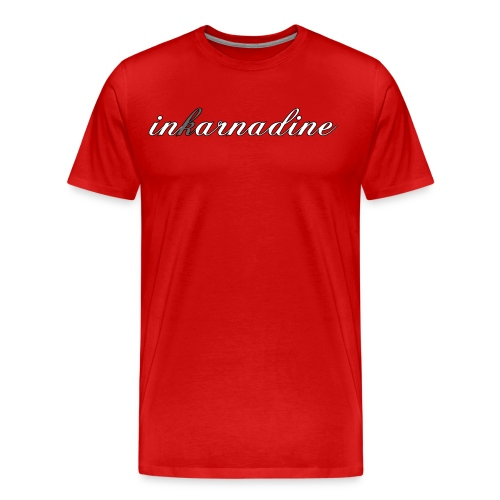 red inkarnascript 5x/4x/3x tee - Men's Premium T-Shirt