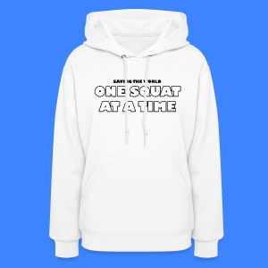 One Squat At A Time (female) - Women's Hoodie