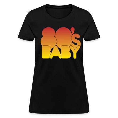 80's Baby Tee - Women's T-Shirt