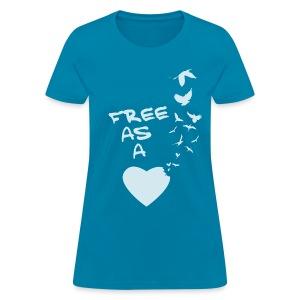 Free Ass a Bird Tee - Women's T-Shirt