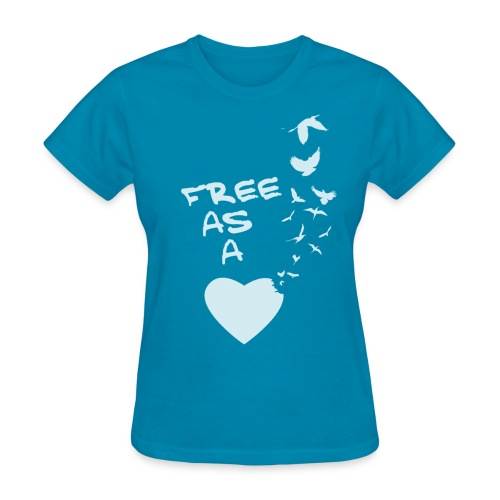 Free Ass a Bird Tee - Women's T-Shirt