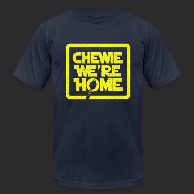 756274cd Janees Gallery   Chewie were home-vintage - Mens Jersey T-Shirt